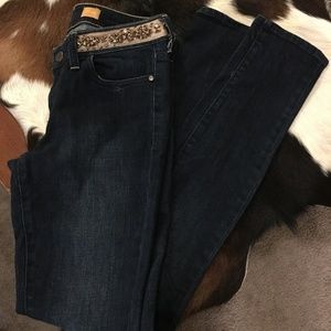 Pilcro and Letterpress skinny jeans sz25